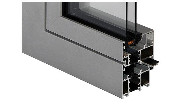 MB 60 Aluminum Windows