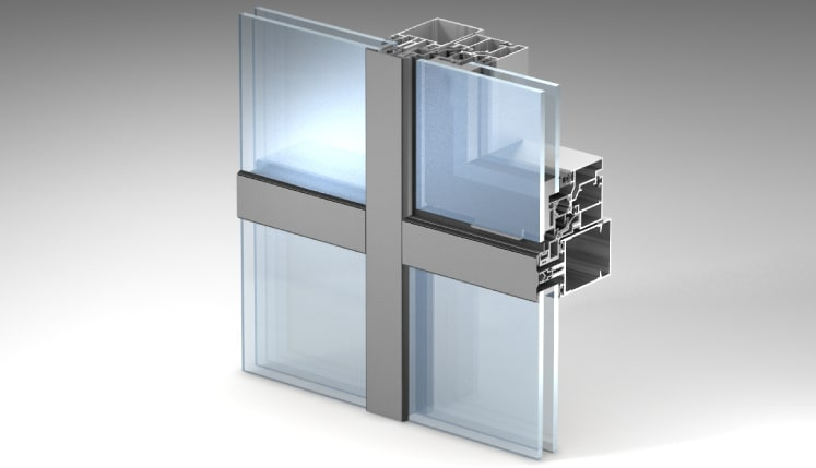 Residential Facades in NYC, Aluminum Glass Facades, CUrtain Walls